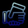 Custom success logo