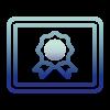 Innovation and quality logo